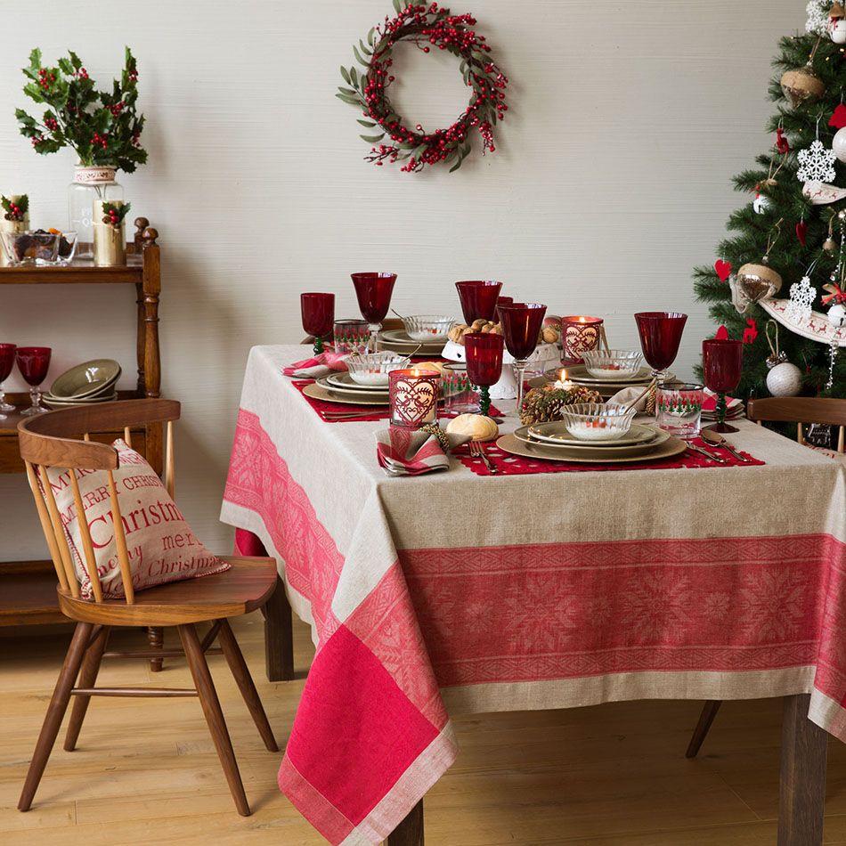 Ideas de mesas decoradas para Navidad | Para navidad, Campera y Mesas