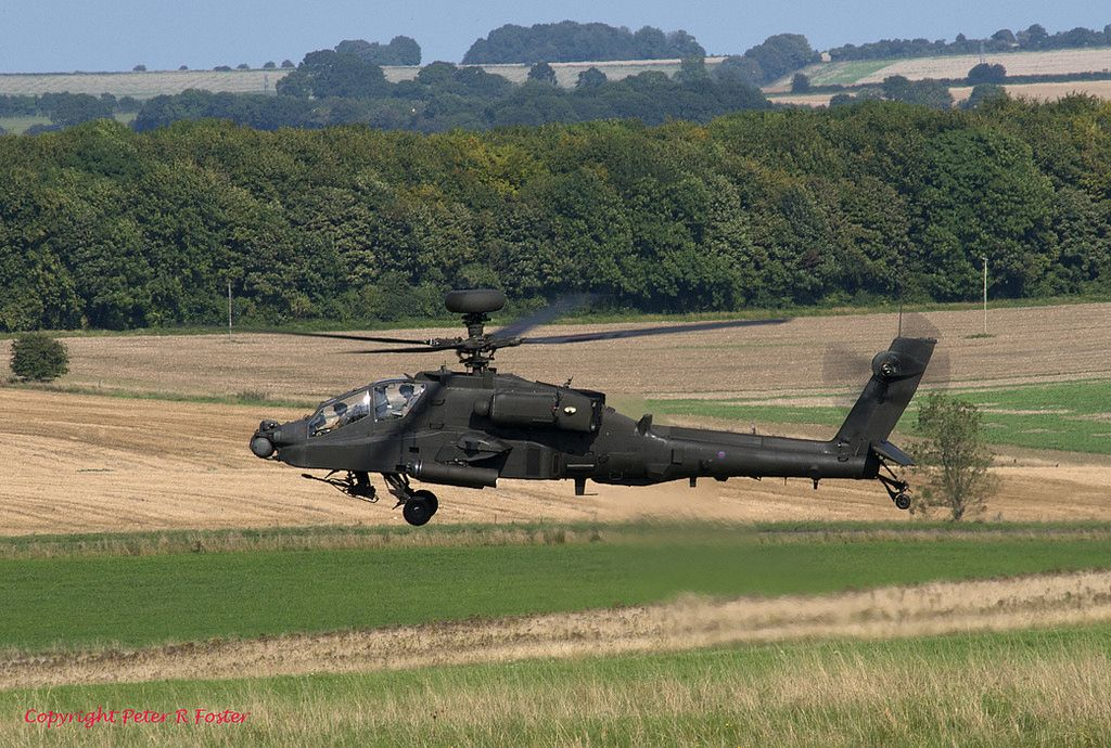 Westland WAH-64 Apache AH Mk.1 ZJ231 14-09-16
