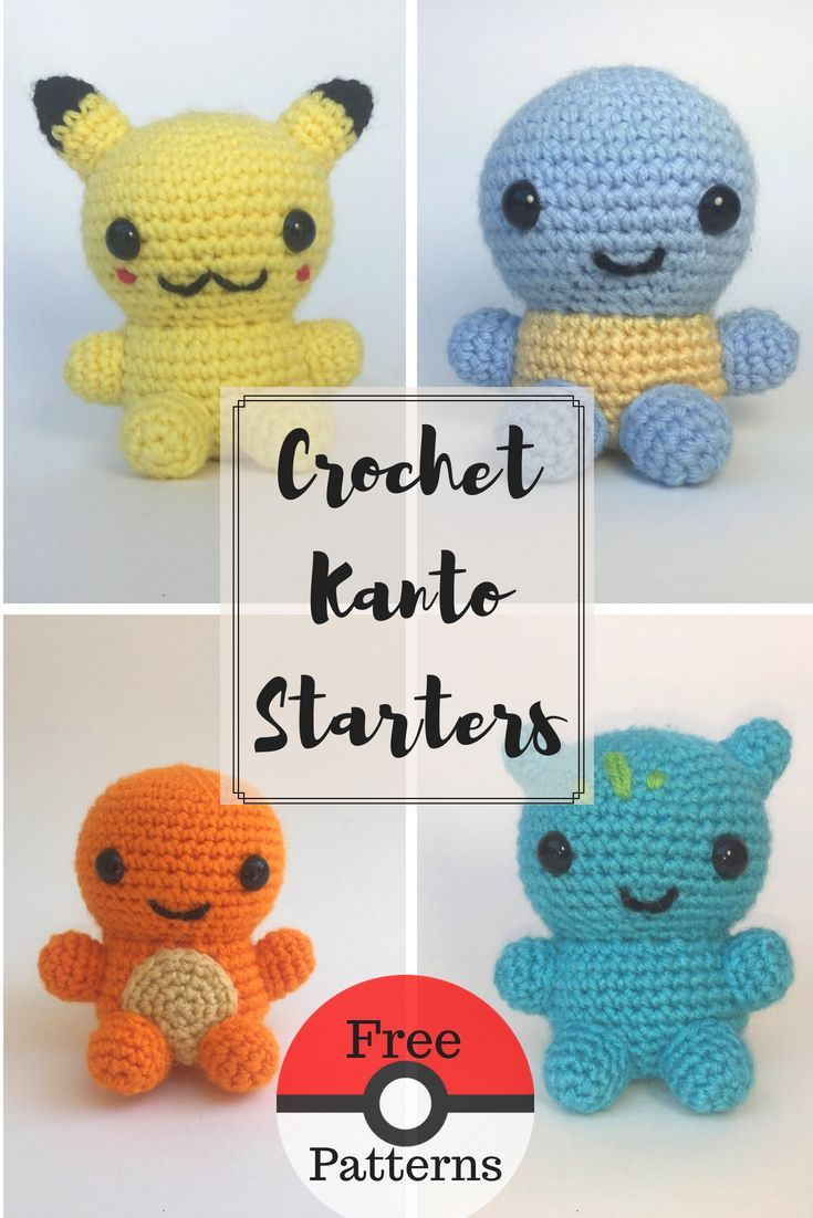 Crochet Pikachu | Free Crochet Patterns from My Favorite Bloggers ...