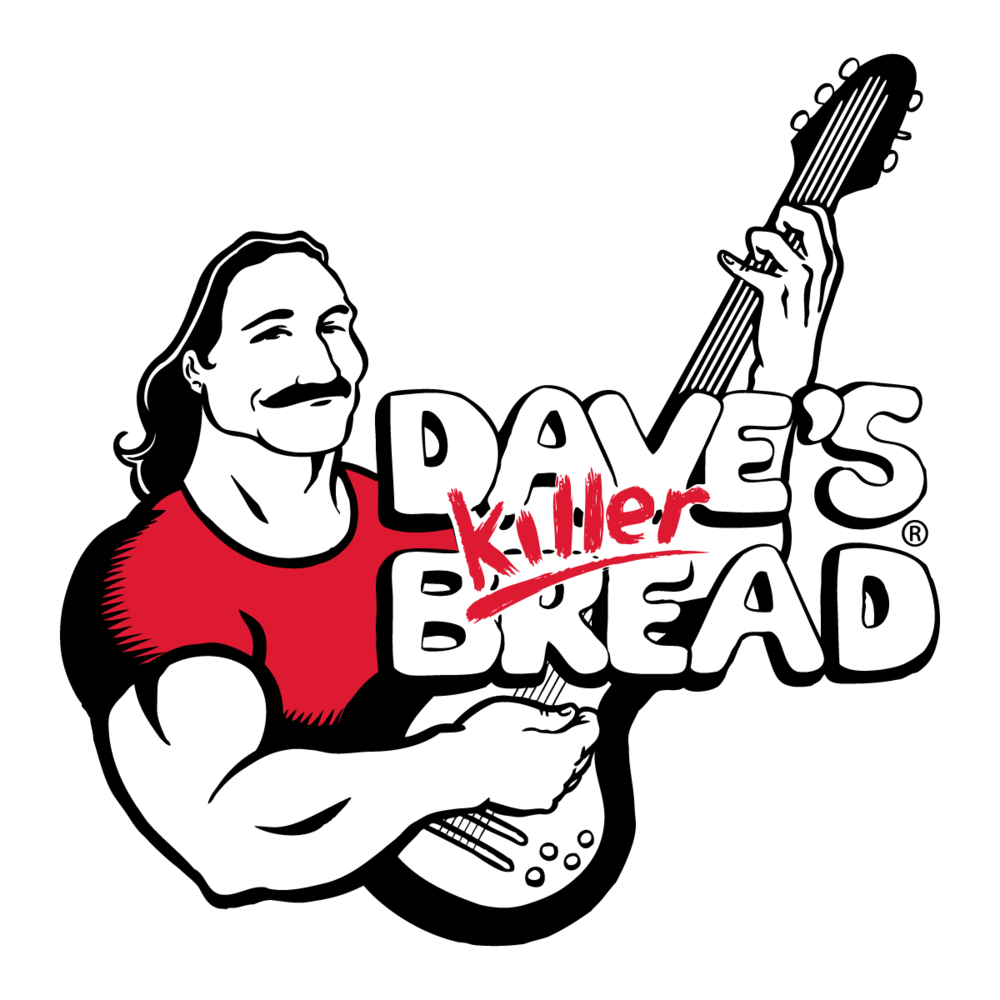 Dave's Killer Bread has a variety of USDA organic, whole grain breads,  including hamburger buns, rolls, and Sin Dawg, the infamous cinnamon swirl  creation.
