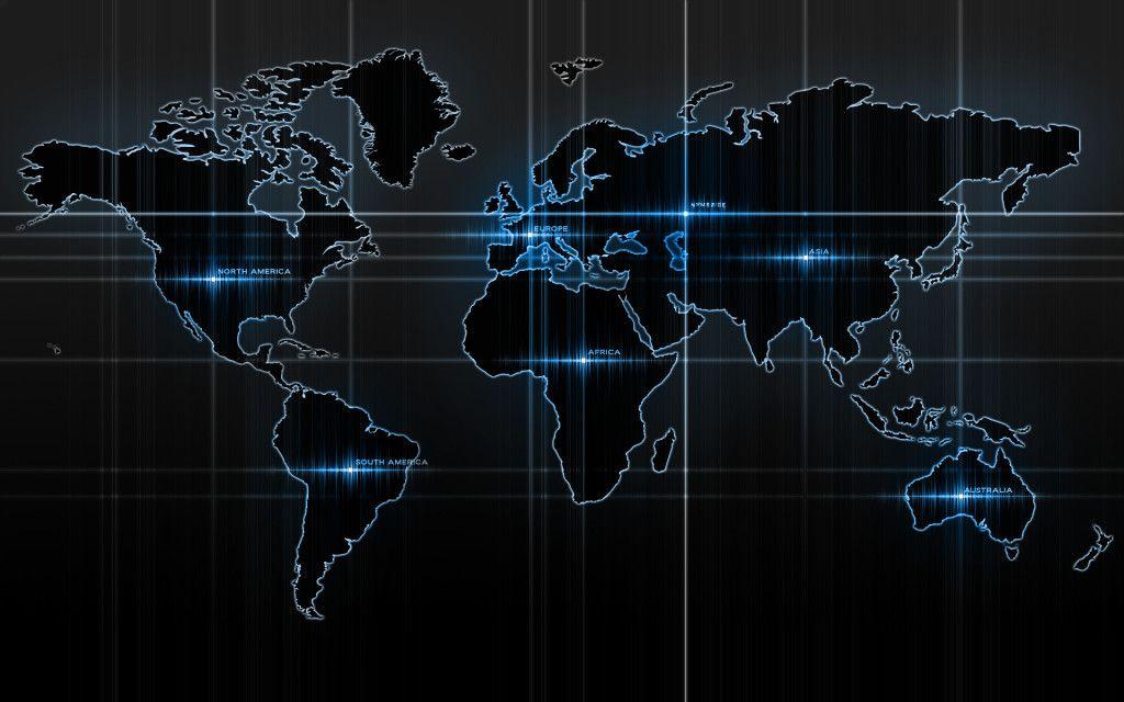 World map black desktop wallpaper maps pinterest black desktop world map black desktop wallpaper gumiabroncs Choice Image
