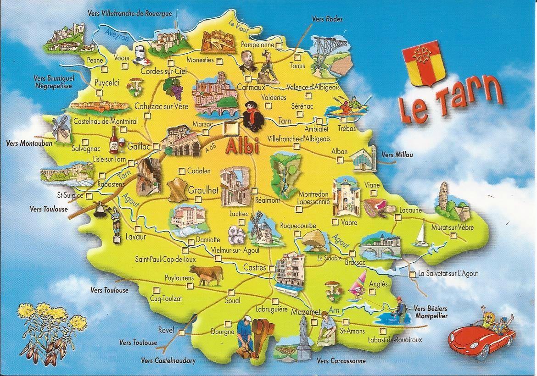 81 Tarn Dans Ma Boite Aux Lettres Cartes Postales De France