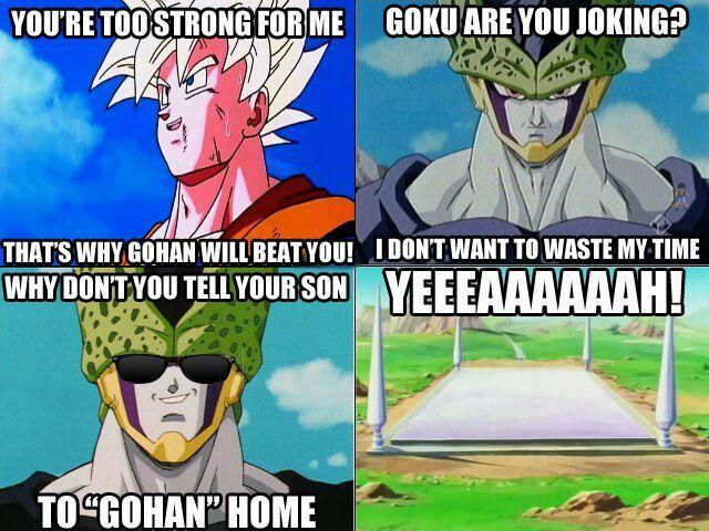 23079d0439e Dragon Ball Z puns Dbz Memes
