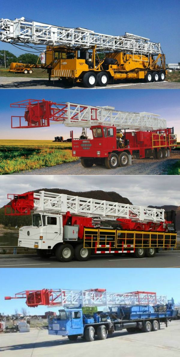 Well Service | Workover Rigs #TradequipInternational