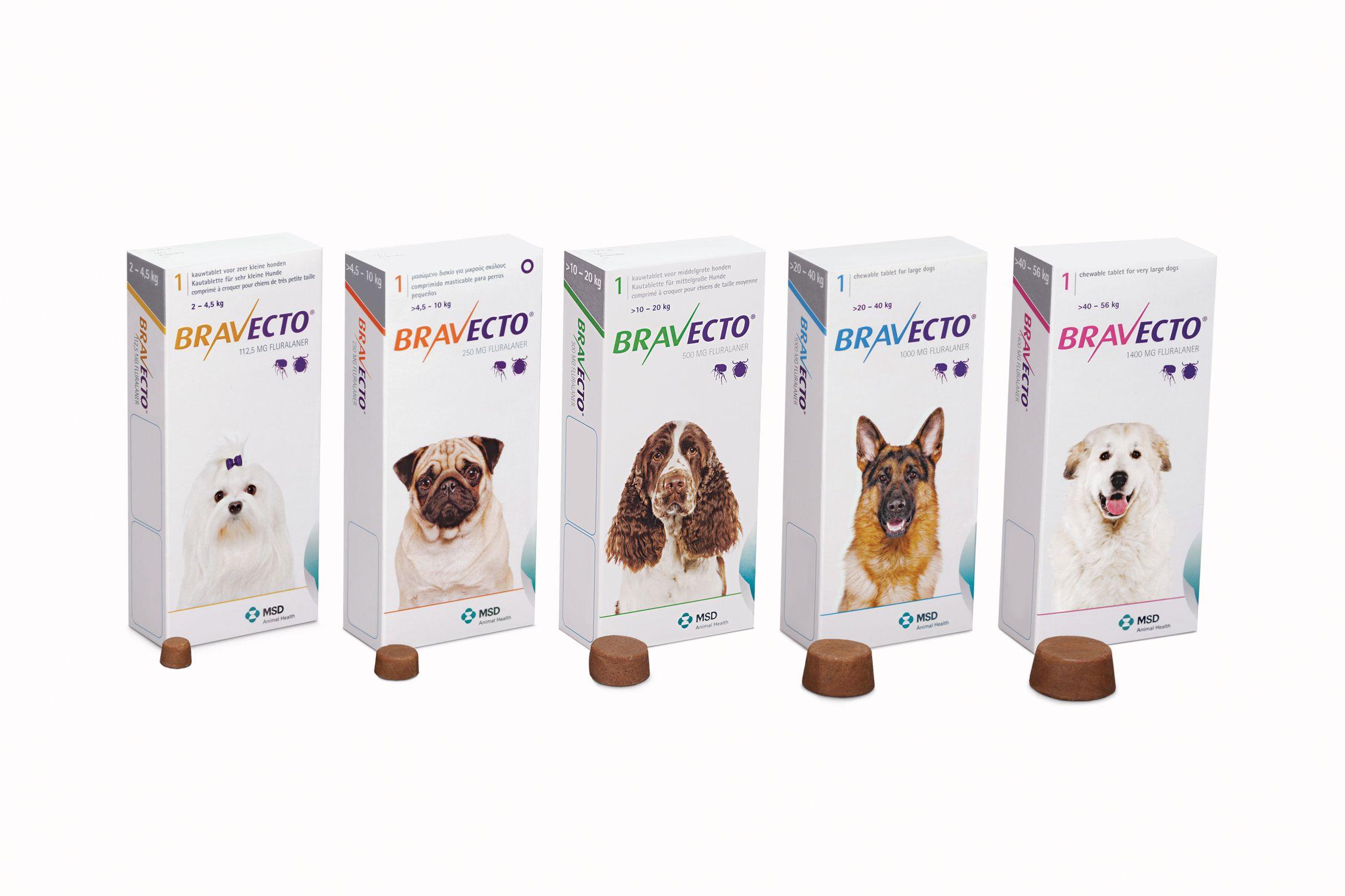 Bravecto Three Month Flea And Tick Pill Single Medium Dog 22 44 Lbs Vet Picks Ticks On Dogs Fleas Dog Flea Treatment