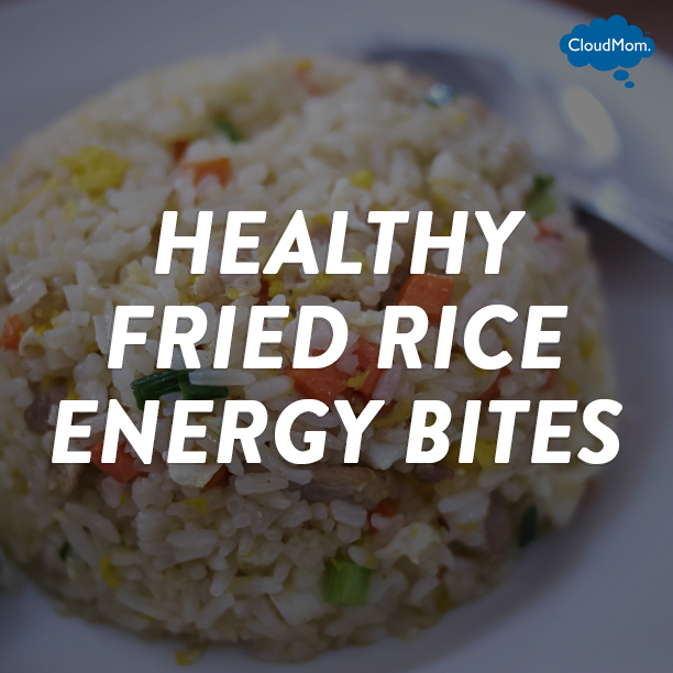 Recipe: Healthy Fried Rice Energy Bites   CloudMom