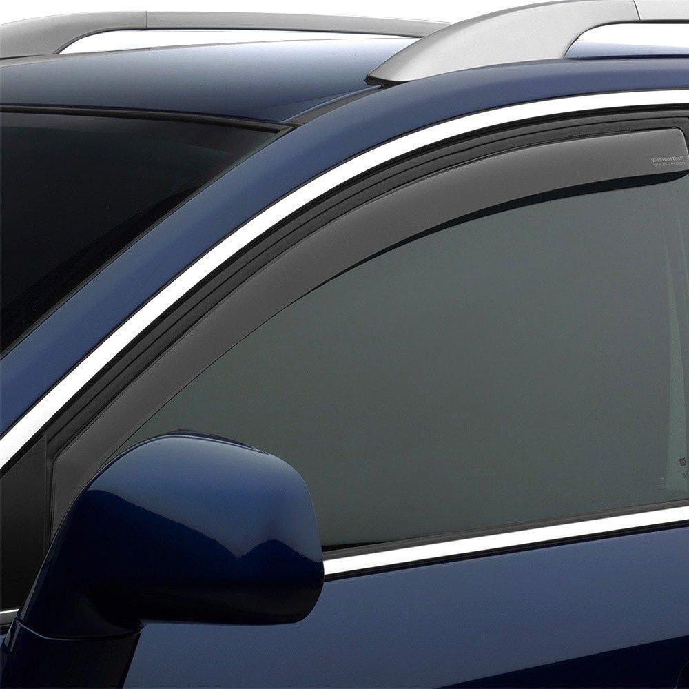 WeatherTech Custom Fit Front /& Rear Side Window Deflectors for Honda Accord Light Smoke