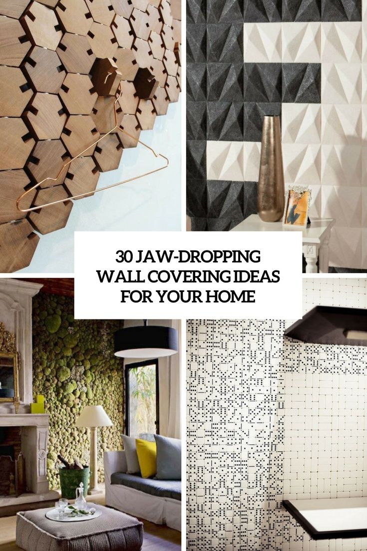 30 Jaw Dropping Wall Covering Ideas For Your Home Wall Coverings