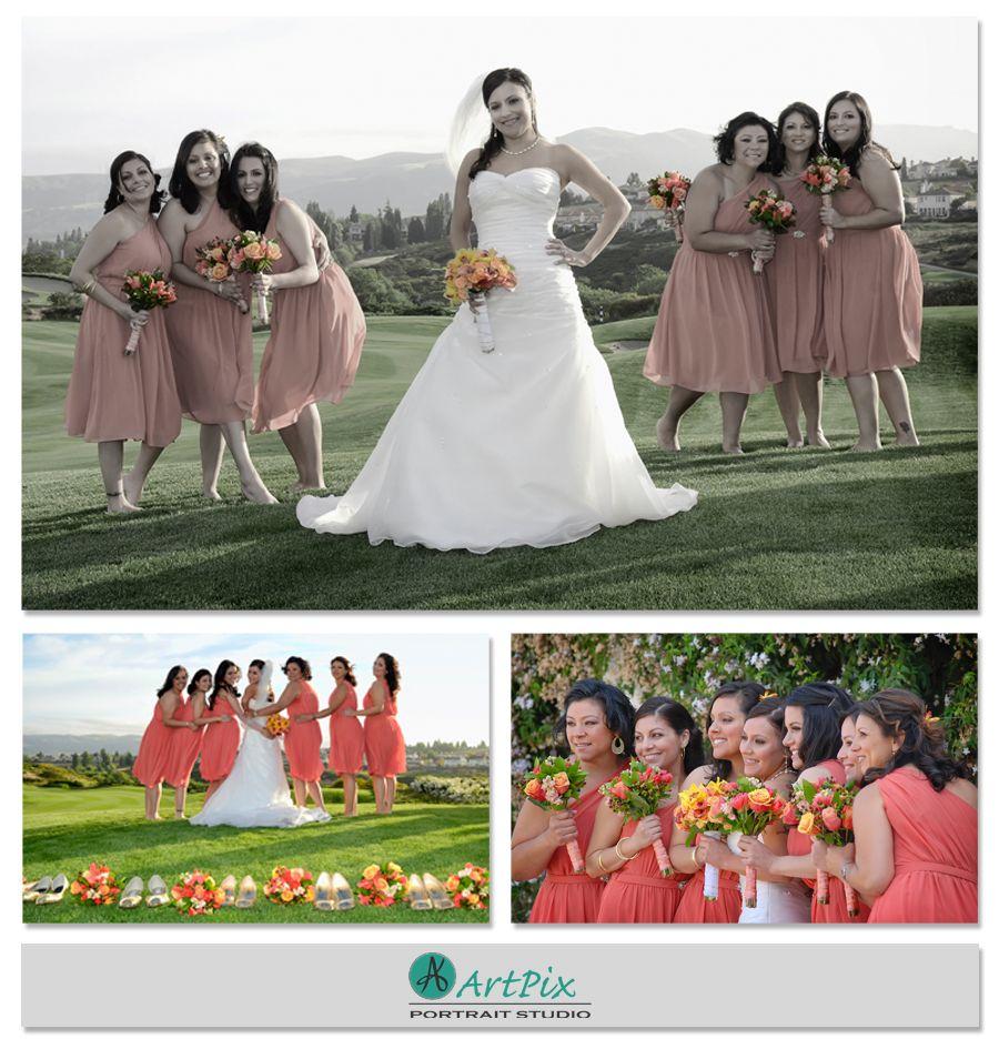 Wedding Entourage Hairstyle: The Bridesmaids - The Bridges, San Ramon, CA