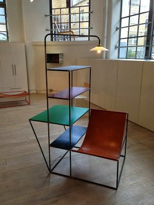 One of the highlights of the London Design Festival was the Muller Van  Severen furniture exhibition at Viaduct's Clerkenwell showroom.