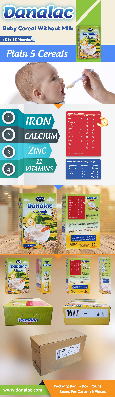 DANALAC® Baby Cereals by Dana Dairy Factory Mittagessen