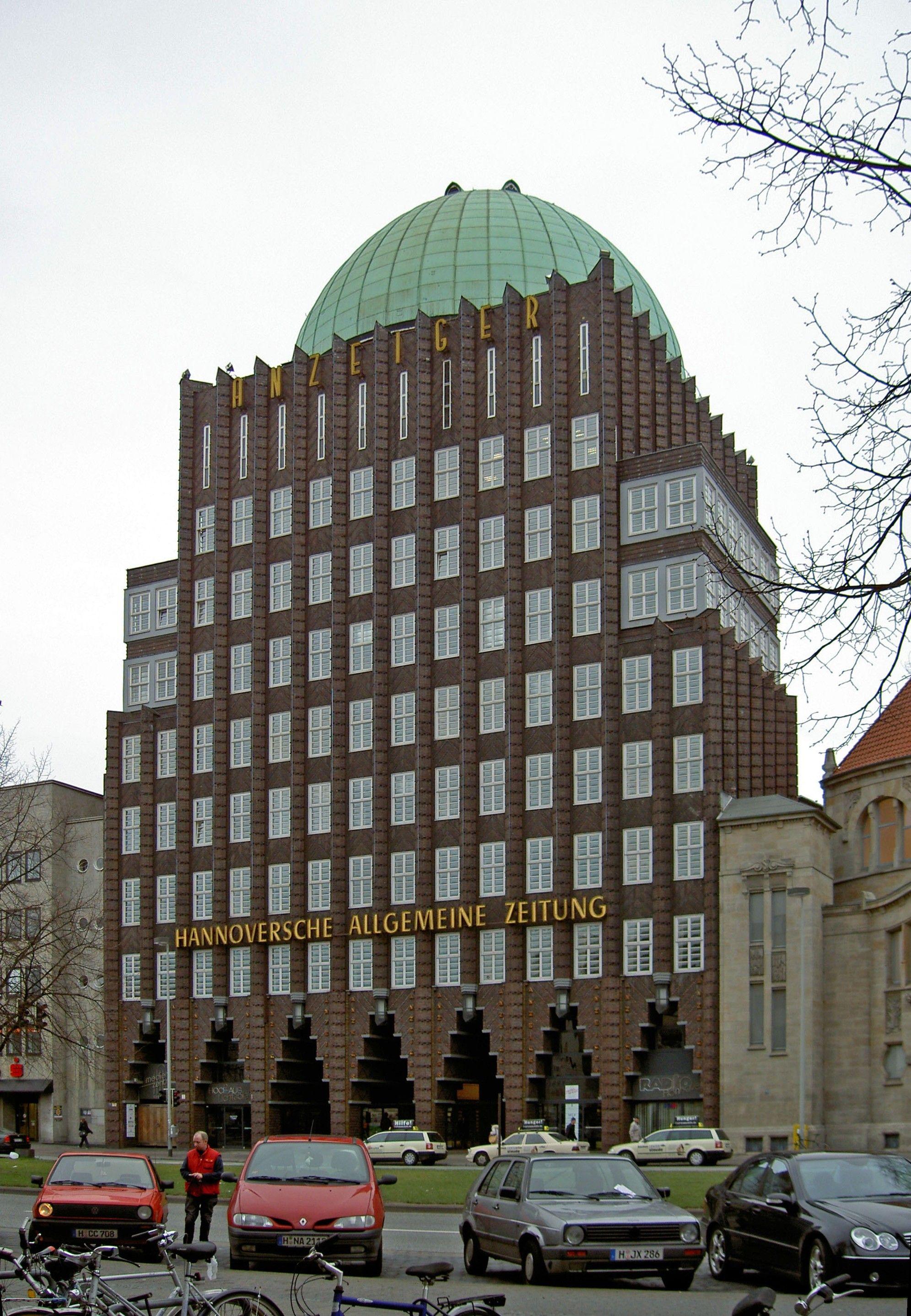 Brick Expressionism In Hannover Stadt Hannover Hannover Stadt