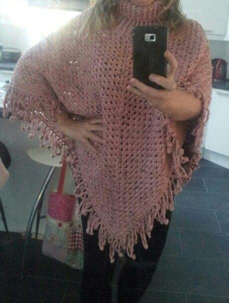 Simply Crochet Poncho My Version Wwwfacebookcomcutiepiecrochets