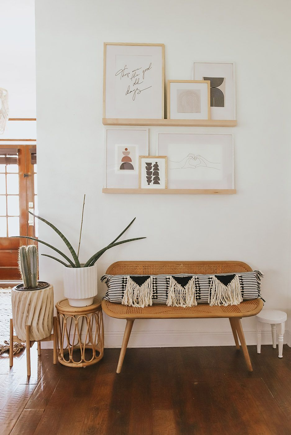 This Open Concept Space Has Perfected The Art of Boho Living Room Decor