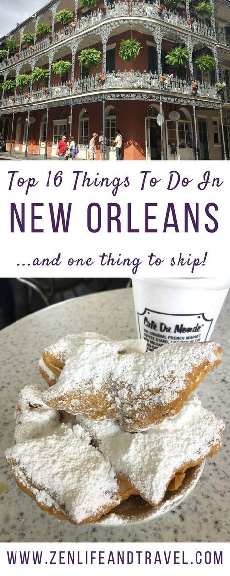 16 Fun Things To Do In New Orleans #travelbugs