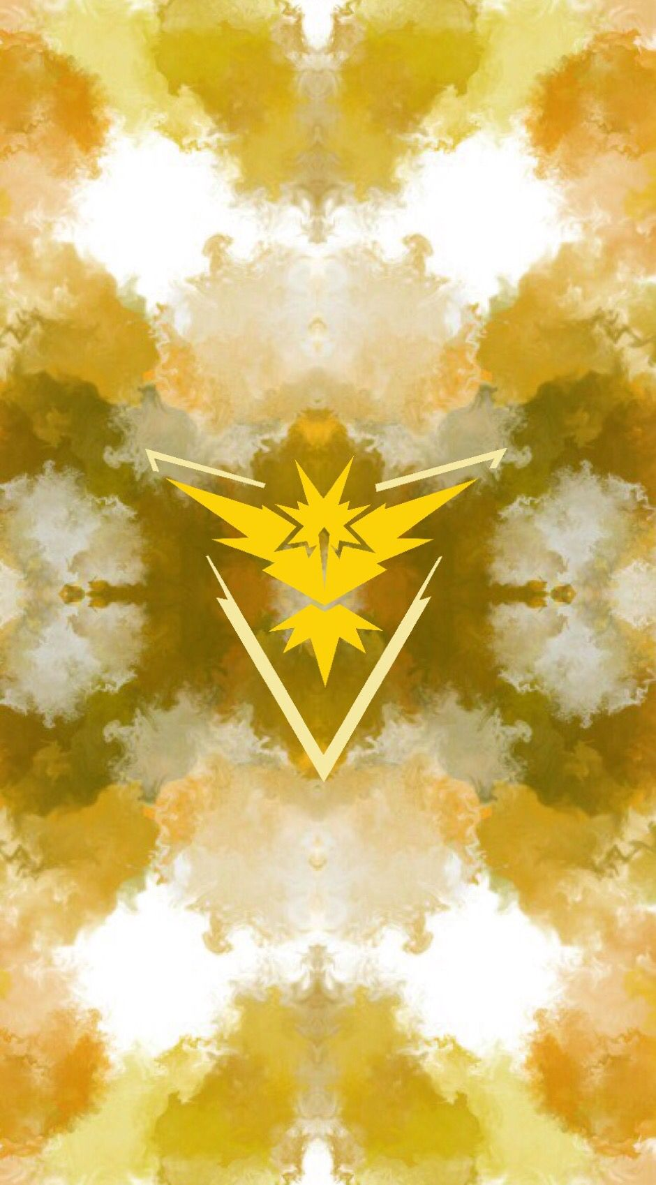 Team Instinct Wallpaper By Alex Ximil Montes Pokemon Pokemon Go
