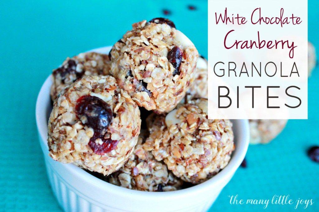 25++ Birthday cake granola bites ideas