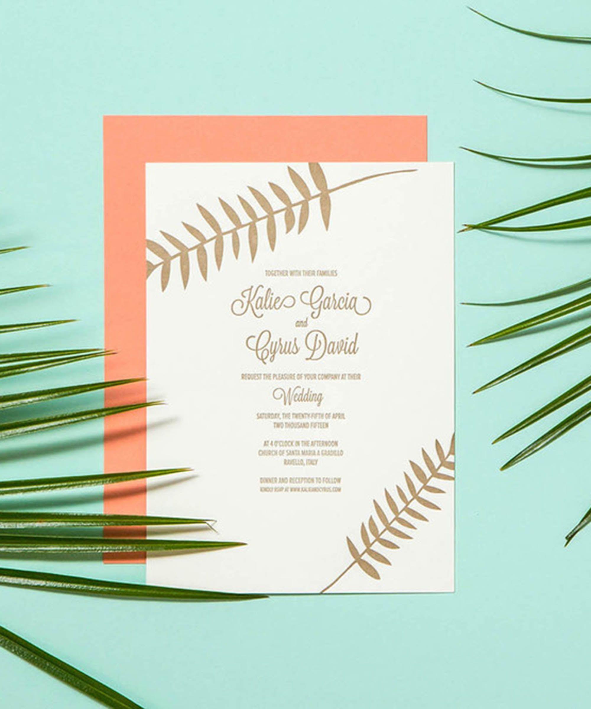 36 Stunning Wedding-Invitation Ideas   Wedding invitation cards ...