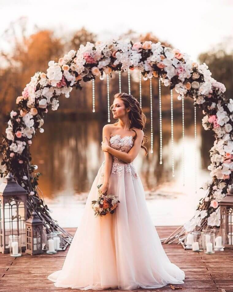 Beautiful and Smart Ideas for Bohemian Wedding Dresses 1