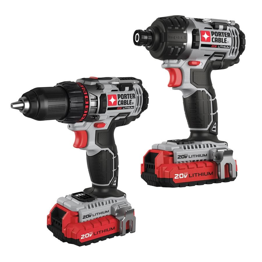 You Ll Be Dad S Favorite With This Drill And Impact Driver Combo Kit Fathersday Porter Cable Porter Cable Tools Combo Kit
