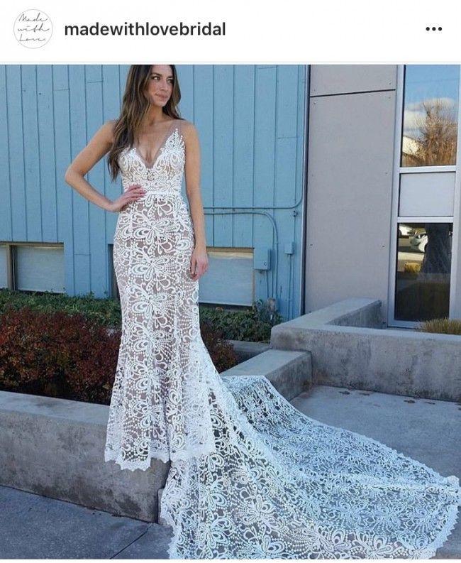 Non Traditional Wedding Dress Boho: Made With Love Sasha Wedding Dress