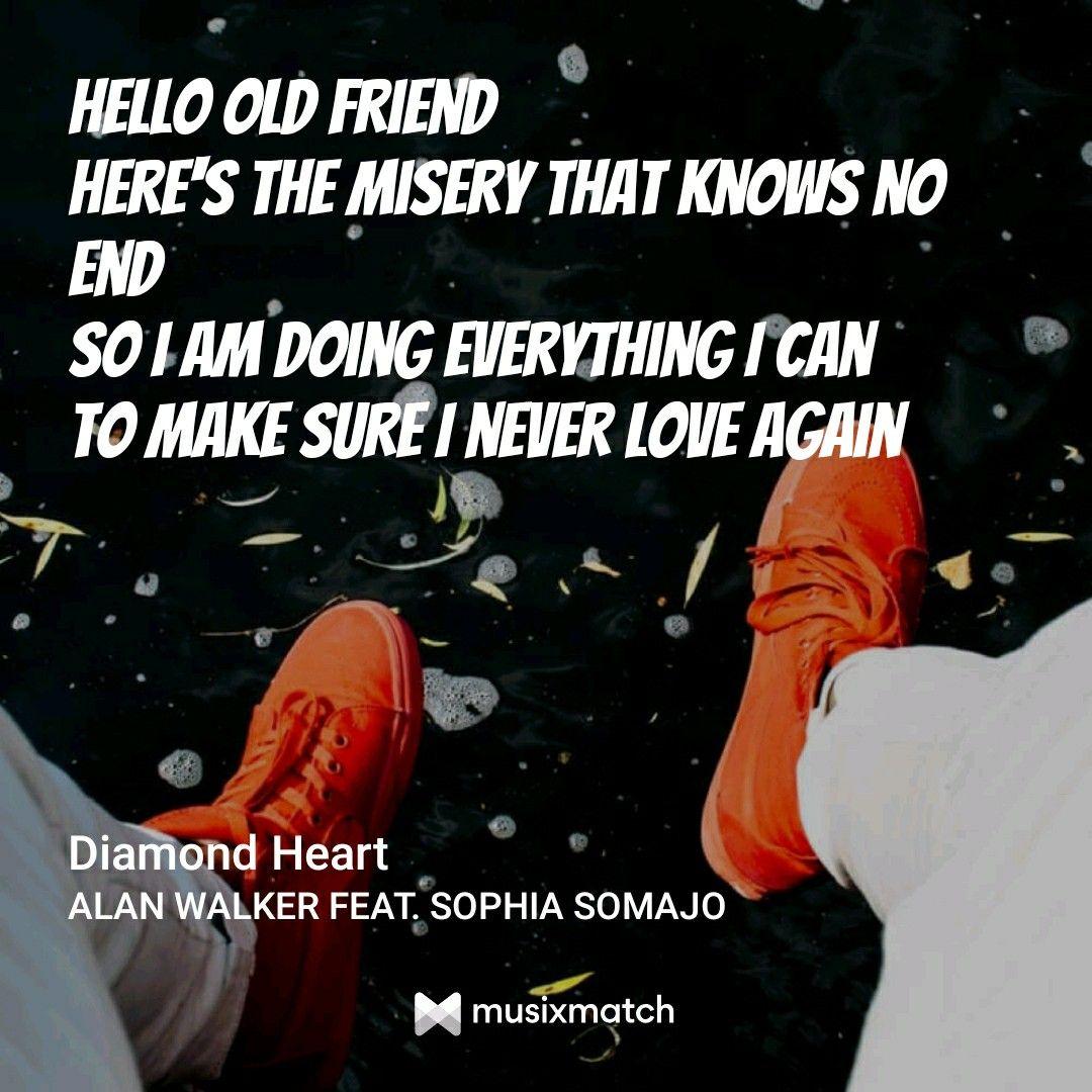Pin By Dodo On Lyrics With Images Never Love Again Alan Walker Lyrics