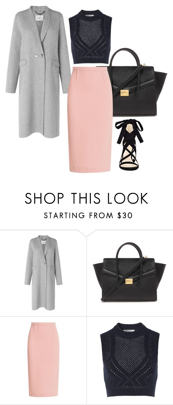 """winter style 2016"" by abelaz on Polyvore featuring L.K.Bennett, Forever 21, Roland Mouret, T By Alexander Wang and Nine West"