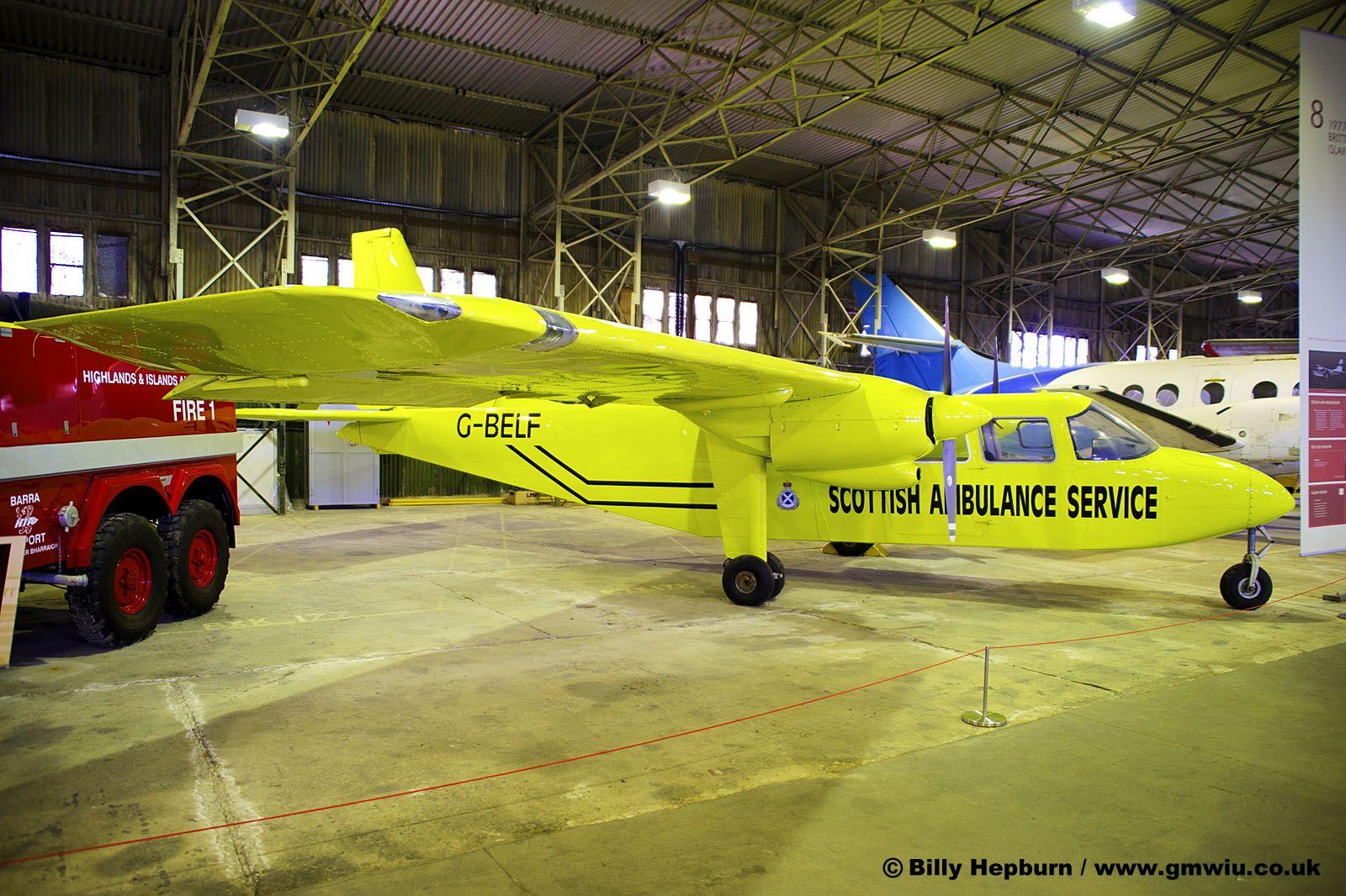 Britten-Norman Islander #aviation #aircraft #ga #twin piston #passenger #transport #uk