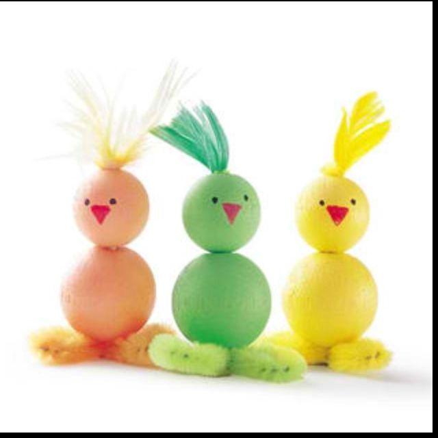 Foam ball chickys