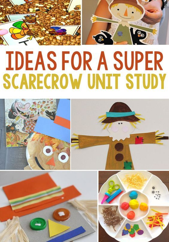 Ideas To Create A Super Scarecrow Unit Study For Kids
