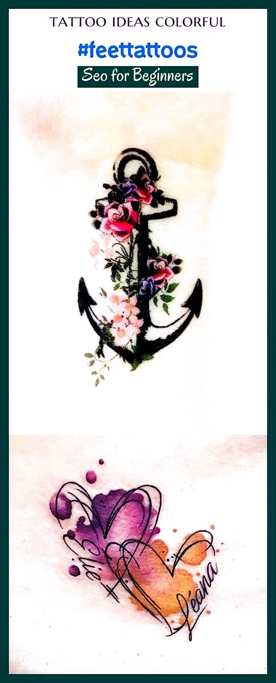 Photo of Tattoo Ideen bunt #feettattoos #seo #boardideas #trending. Tattoo Ideen Fema …
