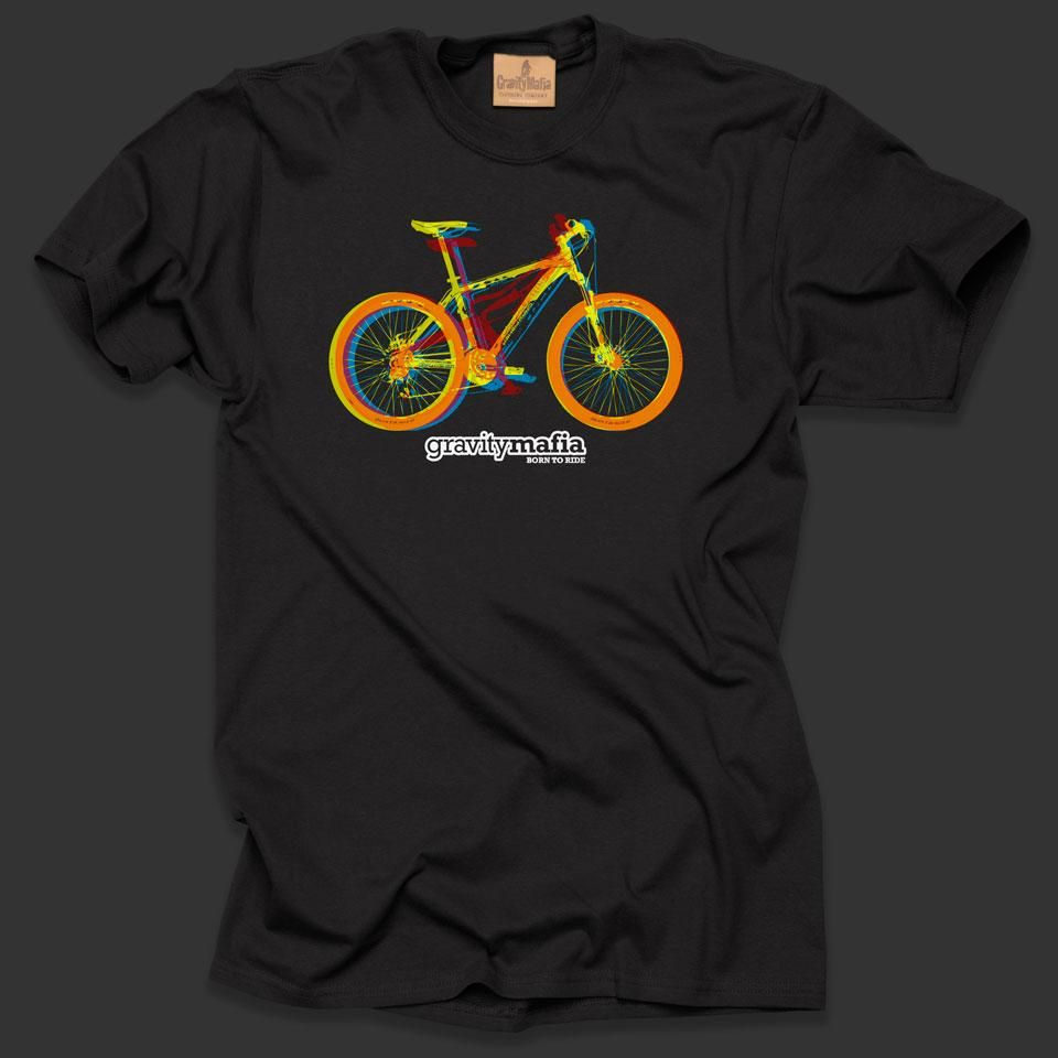 Mountain Bike T Shirt 3d Bikes Black Bike Pinterest Bike