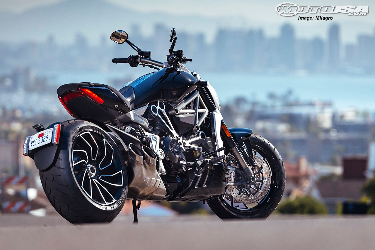 The more sportoriented XDiavel certainly won't be
