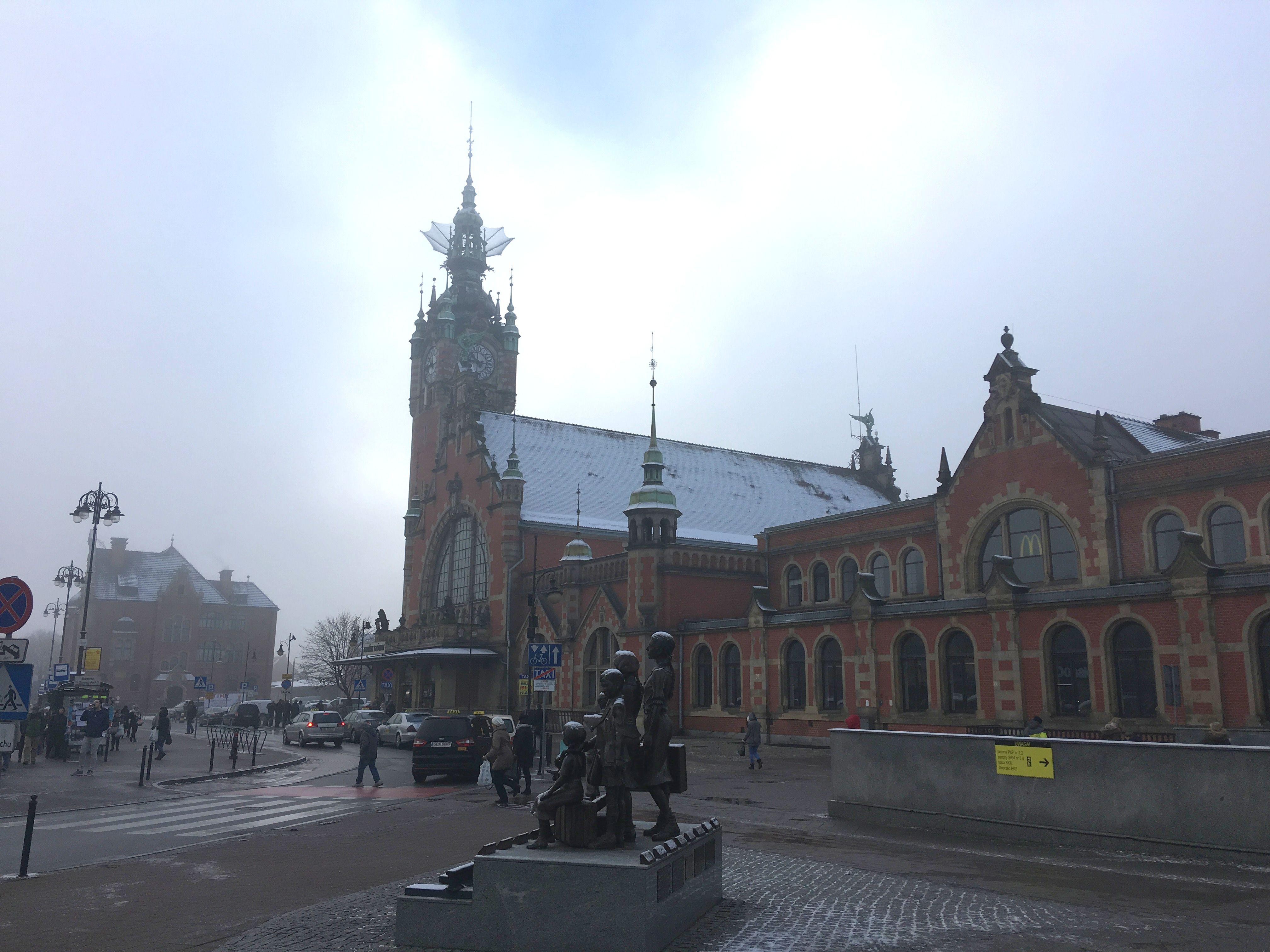 Центральный вокзал Гданьска