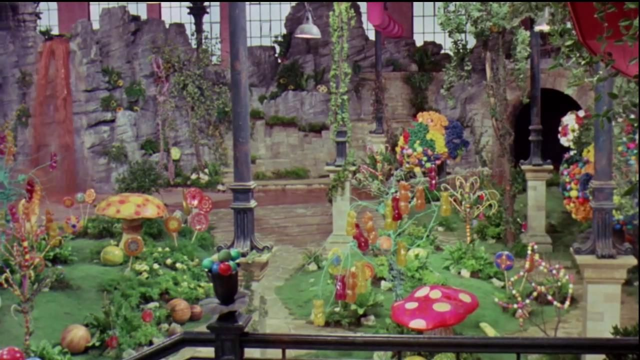 charlie and the chocolate factory candy room - Google ...