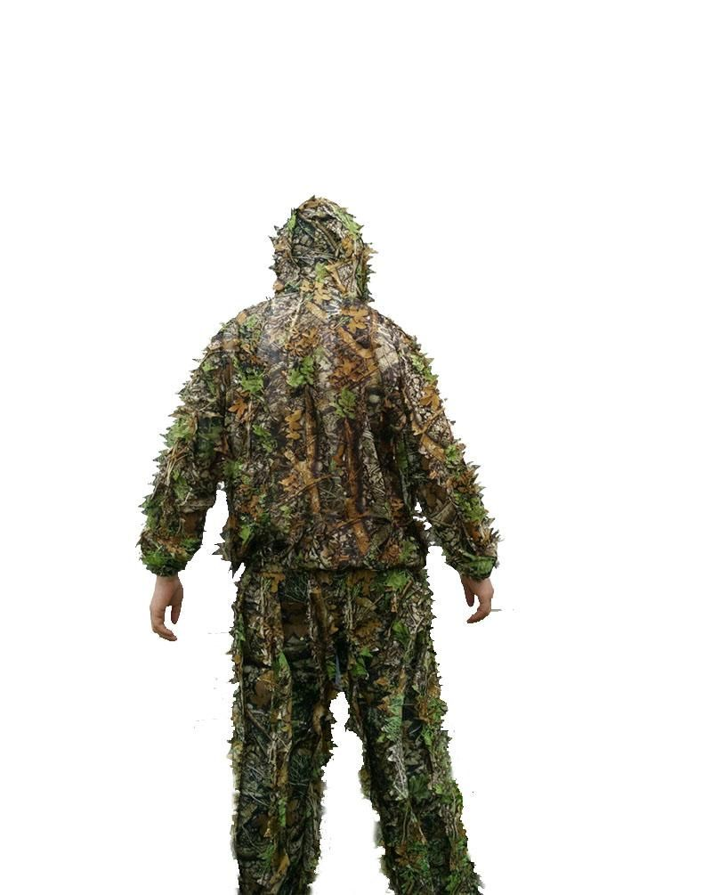 high quality various styles price reduced New 3D maple leaf Bionic Ghillie Suits Yowie sniper ...