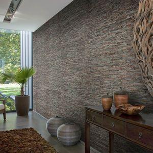 Resultado De Imagen De Paredes Revestidas Com Ceramica Eco Interior Design Wall Coverings Modern Wallpaper Designs