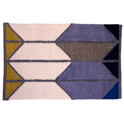 Alyson Fox Shapes Dhurrie Rug Large