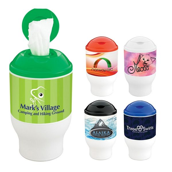 Promotional Wet Wipe Container Cup Customized Wet Wipe Container