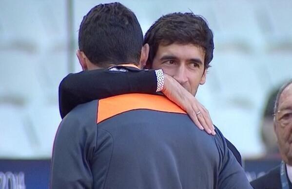 Raúl and Cristiano
