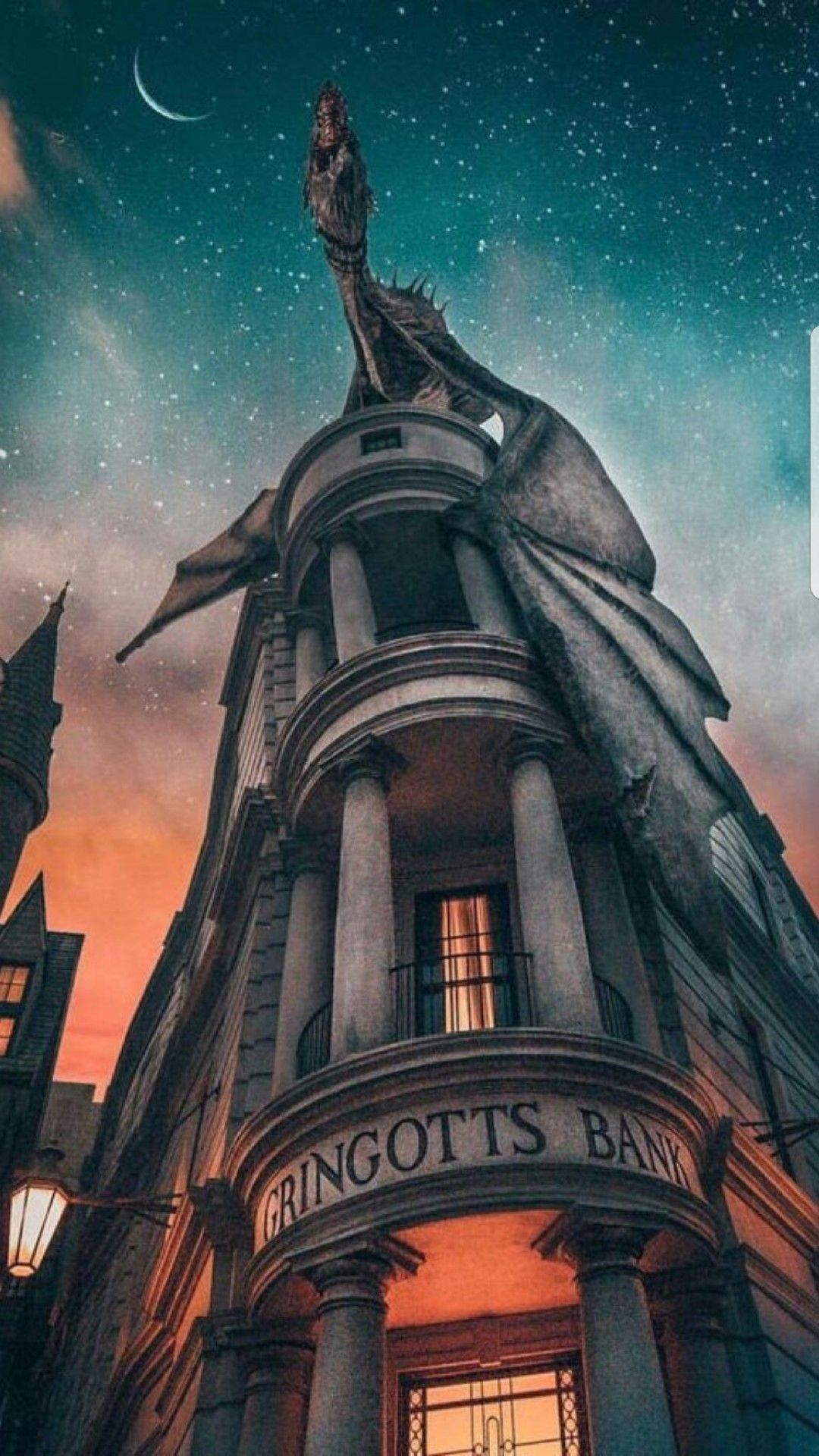 Pinterest: M. Betül DURU Wallpaper Harry Potter Gringots Bank #Filmtapete
