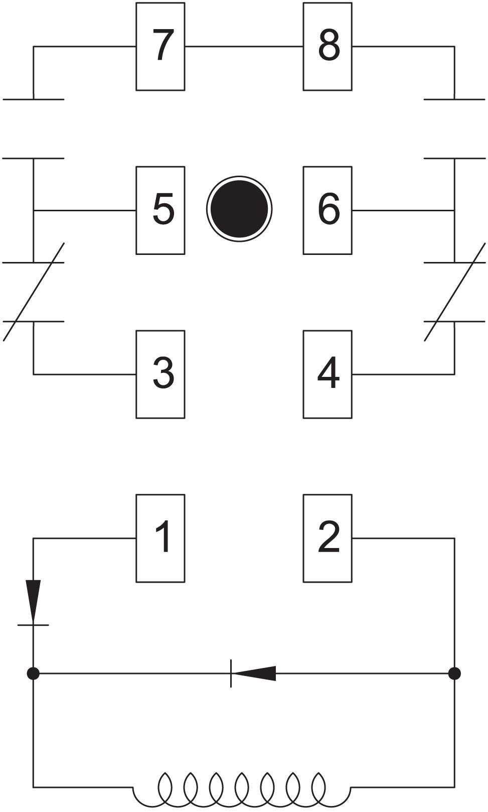 55 Fresh General Purpose Relay Wiring Diagram Relay Diagram Electromagnet