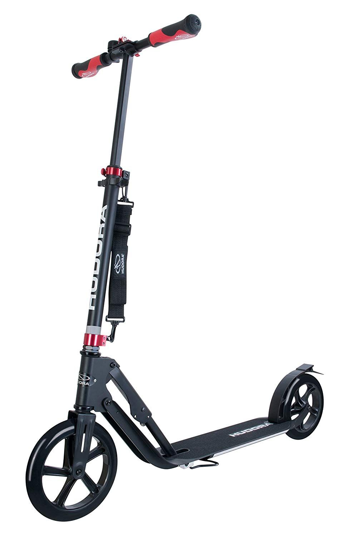 Hudora 14235 Bigwheel Style 230 Tret Roller Klappbar Big Wheel City Scooter Schwarz Amazon De Spielzeug Tretroller Roller City Scooter