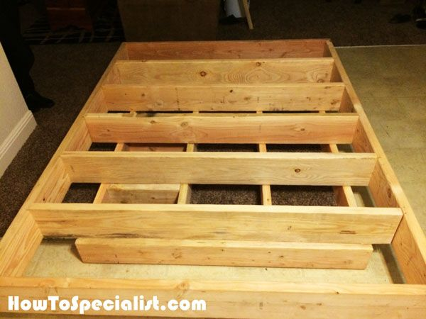 Diy Queen Size Floating Bed Floating Bed Floating Bed Diy