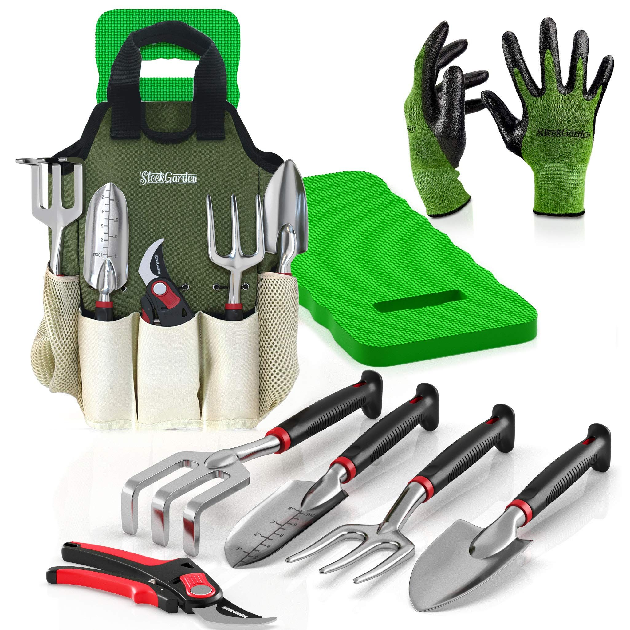 7 Piece Stainless Steel Gardening Tools With Soft Handle TACKLIFE Garden Tools
