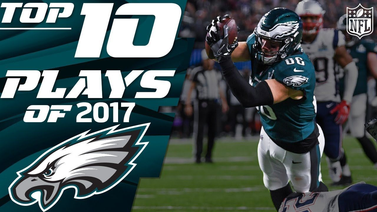 Eagles Top 10 Plays of the 2017 Season NFL Highlights