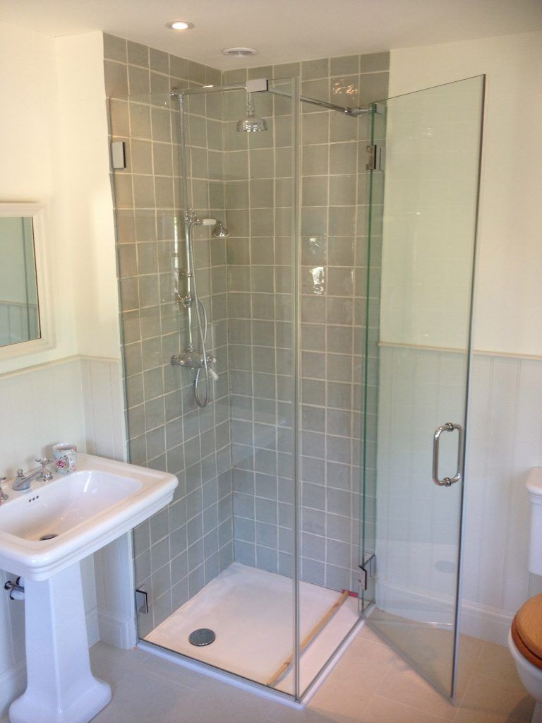 Glass Shower Cubicle Plymtree Devon Clearly Glass Shower