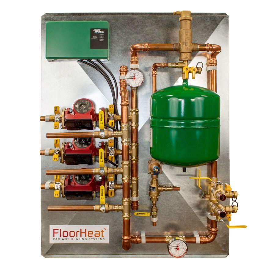 FloorHeat 34in x 42.5in 3 Zone Distribution Panel