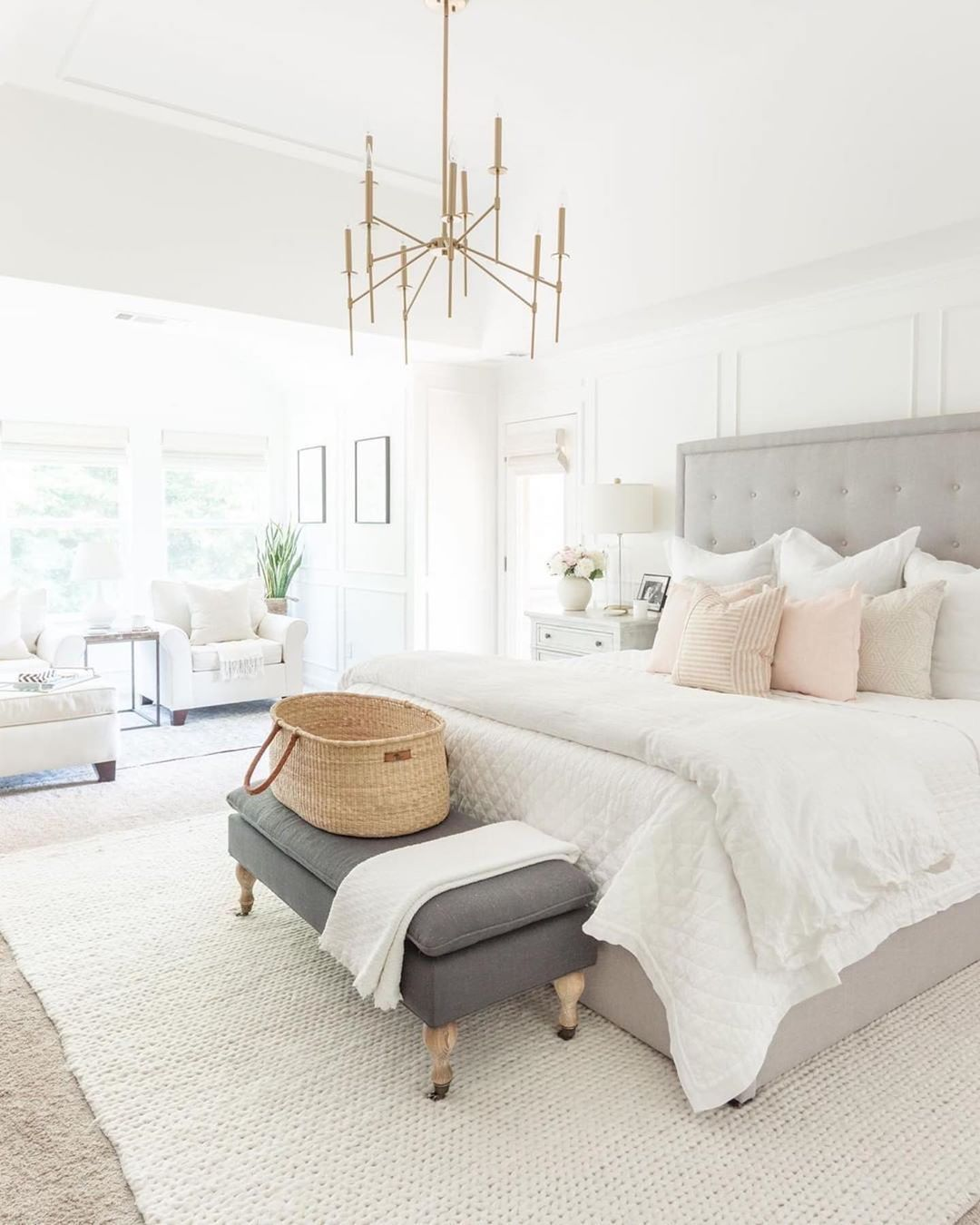 """Southerly on Instagram: """"What light and bright master bedroom"""