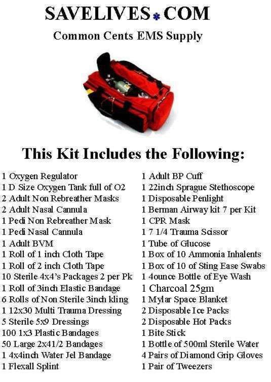 Emt Equipment List Together With Blackhawk Ems Equipment Bag